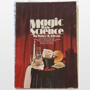 Paperback Book Magic With Science Home
